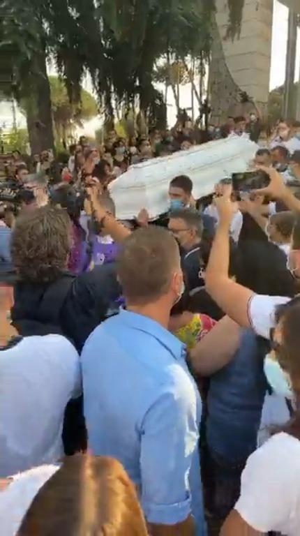 Funerali Maria Paola