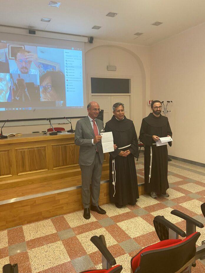 Amedeo Manzo alla Pontificia Università Antonianum