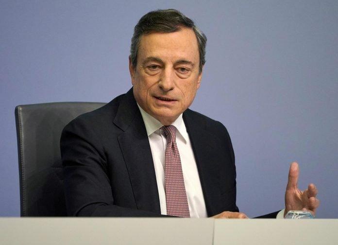 Il presidente del Consiglio dei ministri, Mario Draghi